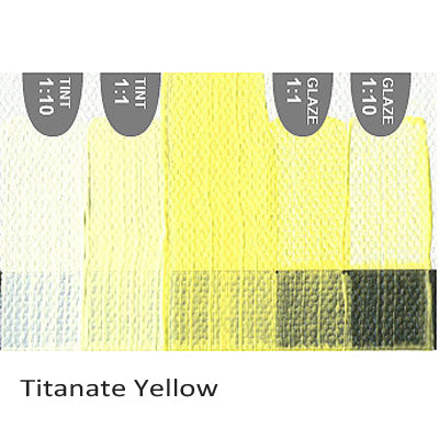 Golden Heavy Body Acrylic paint Titanate Yellow