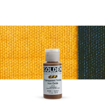 Golden Fluid Acrylics Transparent Yellow Iron Oxide