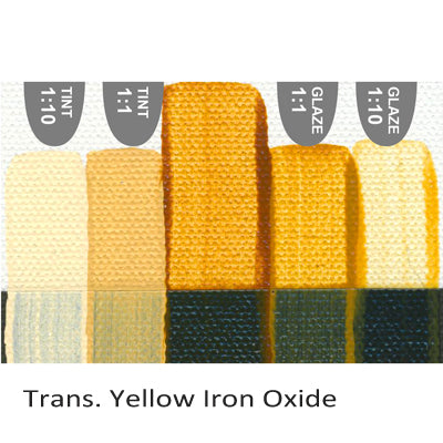 Golden Heavy Body Acrylic paint Trans. Yellow Iron Oxide