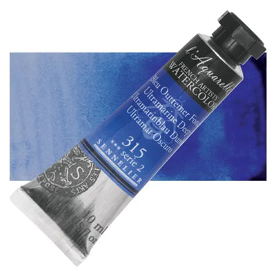 Sennelier L'Aquarelle Watercolours Ultramarine Deep 315