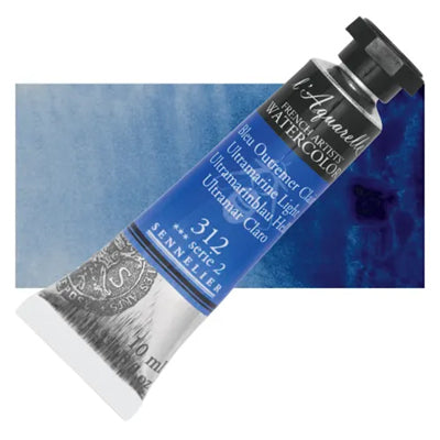 Sennelier L'Aquarelle Watercolours Ultramarine Light 312