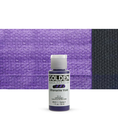 Golden Fluid Acrylics Ultramarine Violet