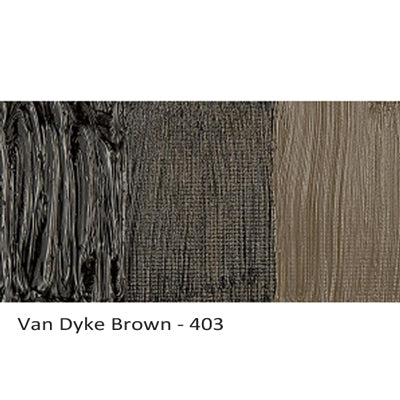 Cobra Water-mixable Oil Paint Van Dyke Brown 403