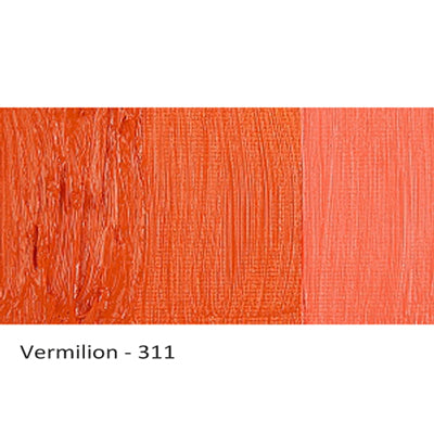 Cobra Water-mixable Oil Paint Vermilion 311