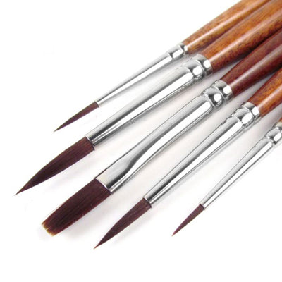Pro Arte Acrylix Brush set of 5 (W8)