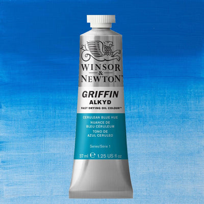 Griffin Alkyd oil paint has a faster drying time than traditional oil colour due to the modified oil binder that is used creating an alkyd resin, which makes Griffin dry faster