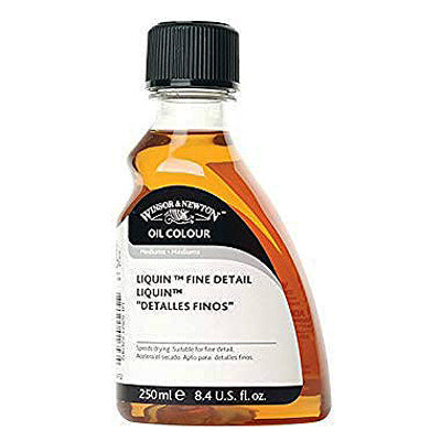 Medium is used with oil paints and has a fluid consistency that is ideal for fine detail, glazing and blending