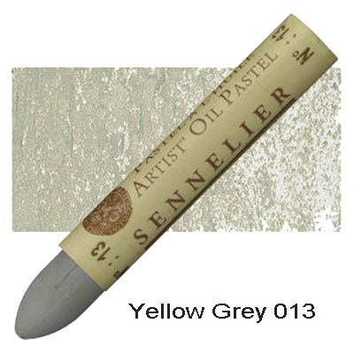 Sennelier Oil Pastels Yellow Grey 013
