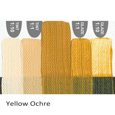 Golden Heavy Body Acrylic paint Yellow Ochre