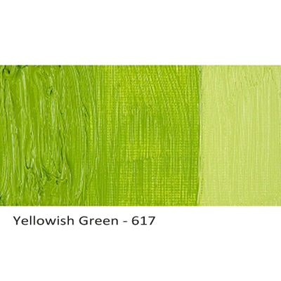 Cobra Water-mixable Oil Paint Yellowish Green 617