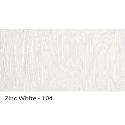 Cobra Water-mixable Oil Paint Zinc White 104