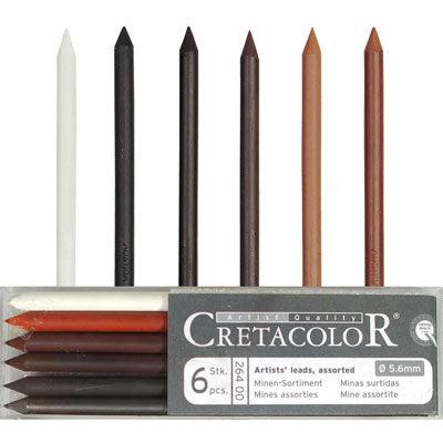 Cretacolour 5.6mm Lead set