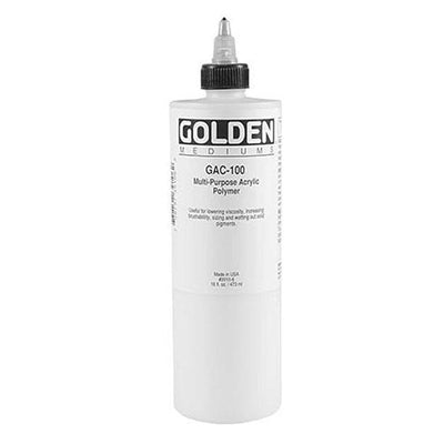 Medium is perfect for diluting and extending acrylic colours.