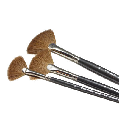 Pro Arte Sable Fan Brush - Series 43
