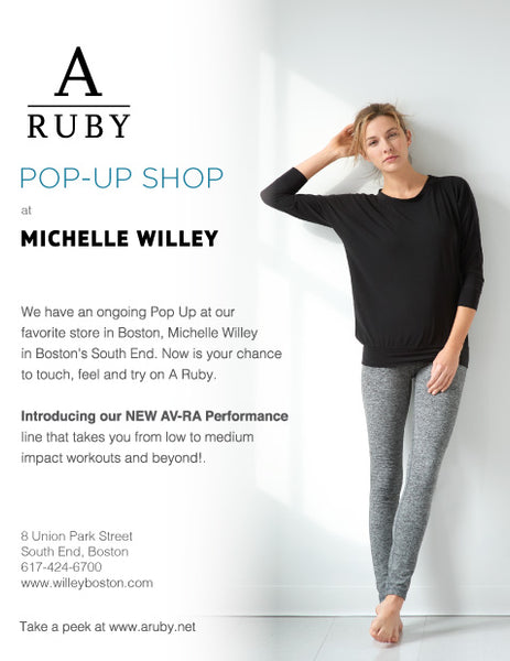 Michelle Willey A ruby pop-up shop