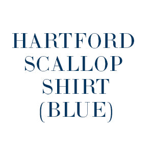 Hartford Scallop Shirt blue
