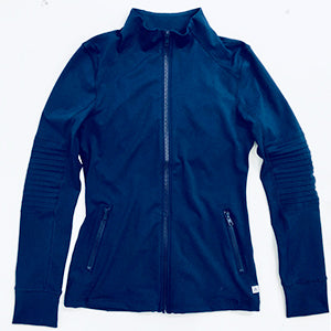 AV-RA Moto Zip Jacket Navy
