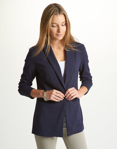 Boyfriend Jacket - navy