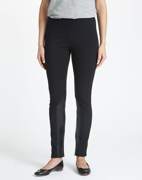 Pull-on Riding Legging Pant - black