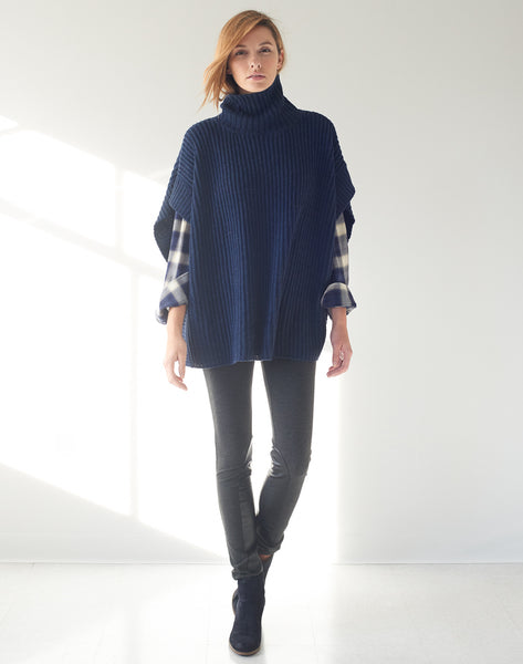 Pull-on Sweater/Poncho