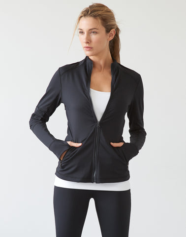 AV-RA Moto Zip Jacket - black