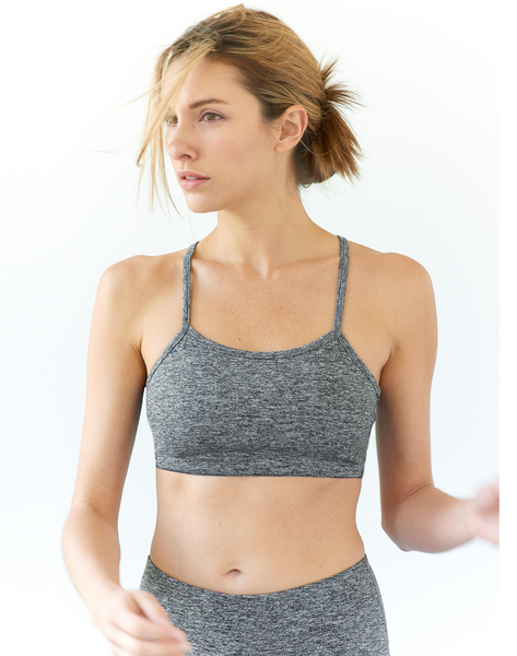 AV-RA Heather Grey Sports Bra
