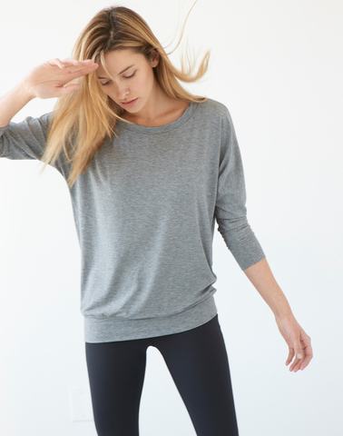 AV-RA Heather Grey Cozy Tee
