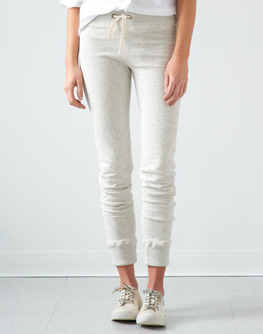 Pull-on Terry Sweat Pant - eggshell mix