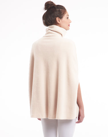Polar Fleece Cape - natural