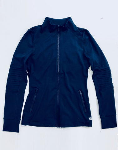 AV-RA Moto Zip Jacket - navy