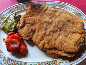 Super-cachopo de Ternera