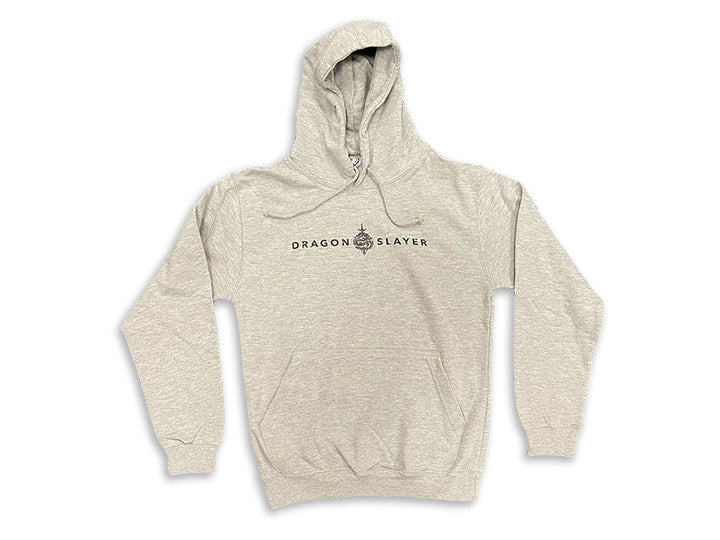Dragon Slayer - Hoodie (Heather Grey)