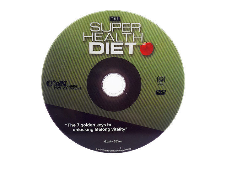Super Health Diet DVD