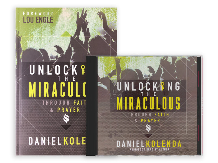 Unlocking the Miraculous Combo Pack (Book and Audiobook)