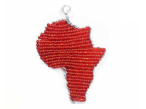 Handmade Africa Christmas Ornament