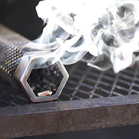 Premium Pellet Smoker Tube 12 inches 5 Hours of Billowing Smoke for Any Grill or Smoker Hot or Cold Smoking An Easy and Safe Way to Provide Smoking