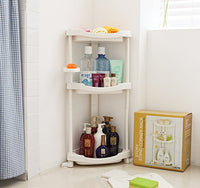 Corner Shower Caddy - 3 Shelf Shower Organizer Caddie with Movab.