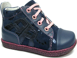 GIRLS ORTHOPEDIC SHOE NAVY