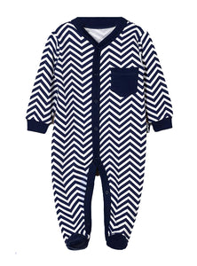 BOYS BODYSUIT FOX NAVY