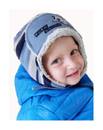Load image into Gallery viewer, BOYS HAT WINTER TRAPPER KNIT