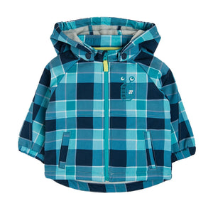 BOYS JACKET FLANNEL-LINED WIND-BUSTER