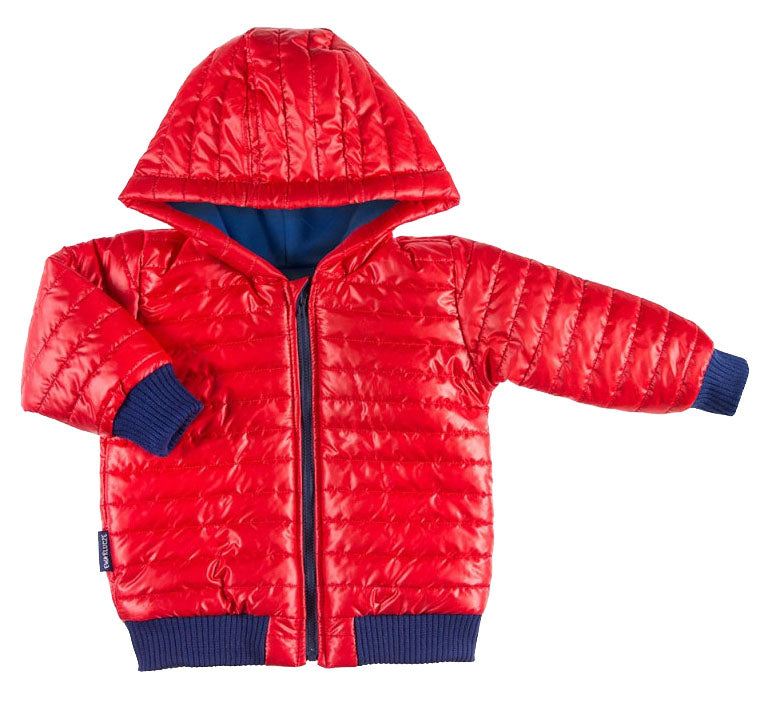 BOYS RED COLD-CONTROL PUFFER