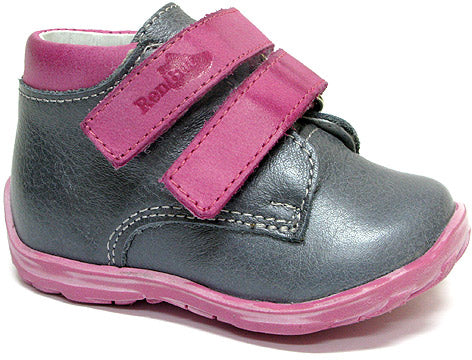 GIRLS SHOE POPIEL DOUBLE VELCRO