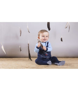 BOYS BODYSUIT WHALE SLEEVELESS