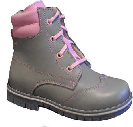 GIRLS WINTER BOOT GRAY