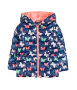 Load image into Gallery viewer, GIRLS JACKET BUTTERFLY