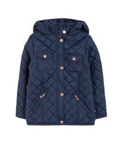 GIRLS JACKET NAVY