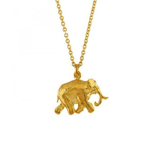 Alex Monroe Gold Indian Elephant Necklace - BVN4-GP