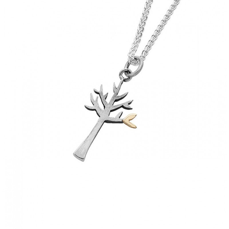 Silver Tree of Life Necklace - Small
