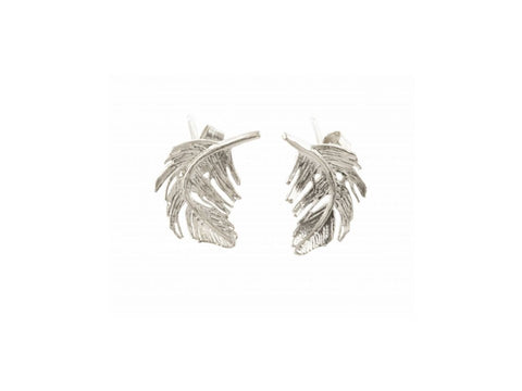 Feather Stud Earrings - TFE5/S
